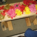 3 year old class Sukkah fun!