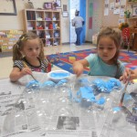 2 Year old class Sukkah Decorations
